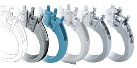 3D Casting rings